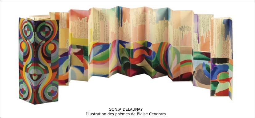 Sonia Delaunay - Illustration des poèmes de Blaise Cendrars