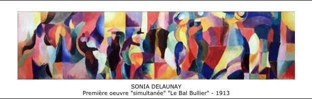Sonia Delaunay – Le Bal Bullier – 1913