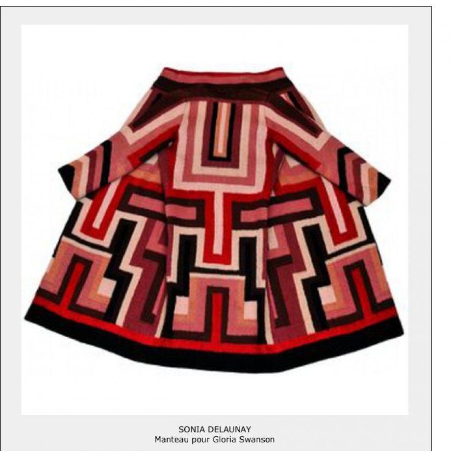 Sonia Delaunay – Manteau pour Gloria Swanson