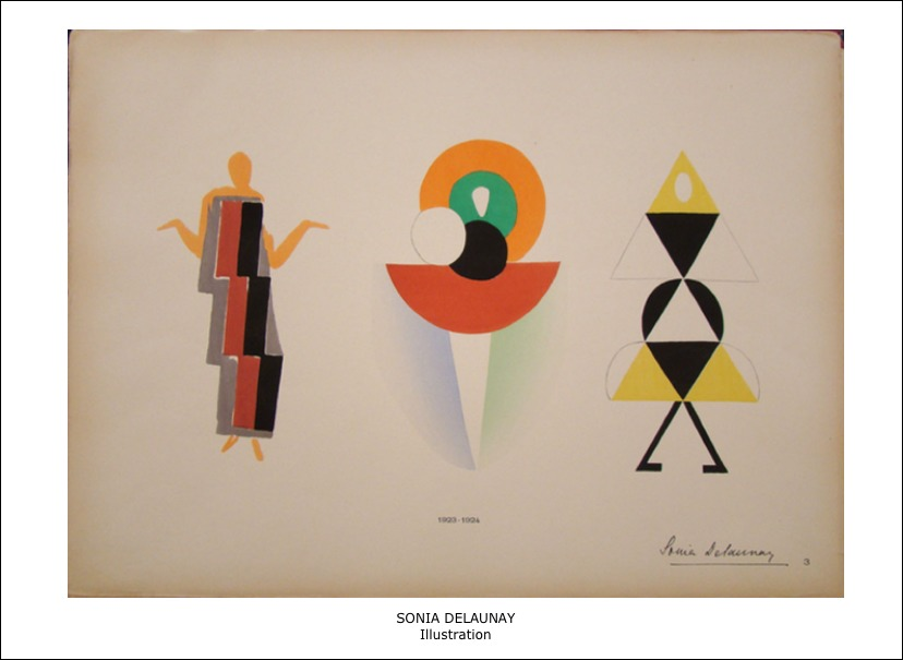 Sonia Delaunay – llustrations