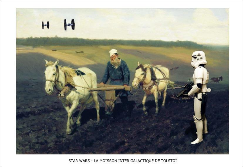 Star Wars – La moisson inter galactique de Tolstoï