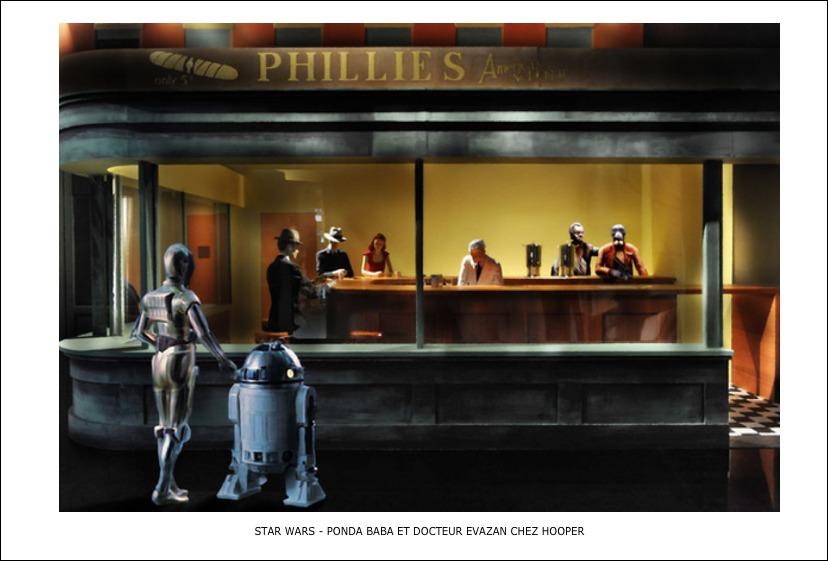 Star Wars – Ponda Baba et docteur Evazan chez Hooper
