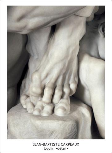 Ugolin (détail) - Jean-Baptiste Carpeaux