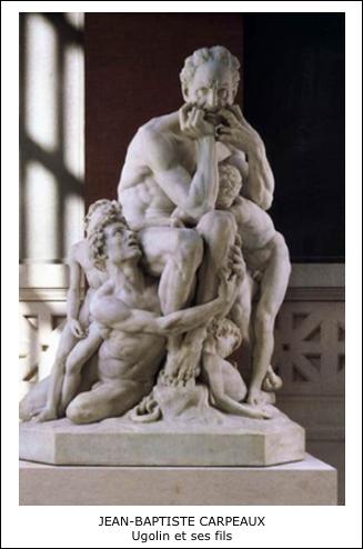 Ugolin et ses fils - Par Jean-Baptiste Carpeaux