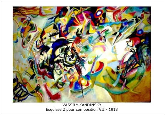 Vassily Kandinsky - Esquisse 2 pour composition VII - 1913