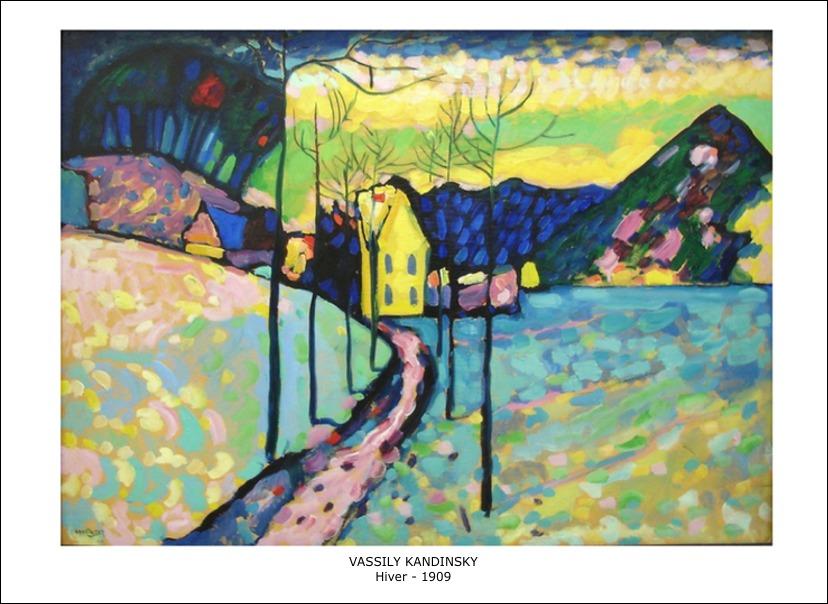 Vassily Kandinsky – Hiver – 1909