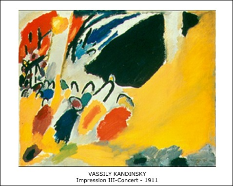 Vassily Kandinsky – Impression III-Concert – 1911