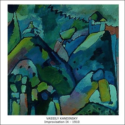 Vassily Kandinsky – Improvisation IX – 1910
