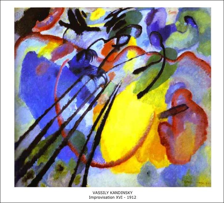 Vassily Kandinsky – Improvisation XVI – 1912