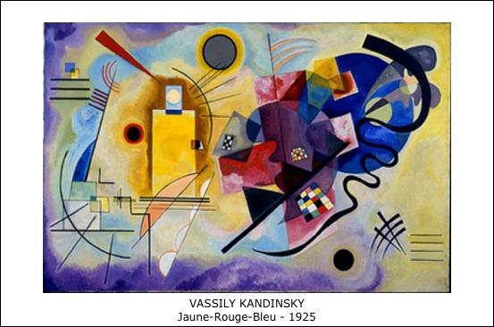 Vassily Kandinsky - Jaune-Rouge-Bleu - 1925