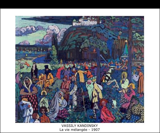 Vassily Kandinsky - La vie mélangée - 1907