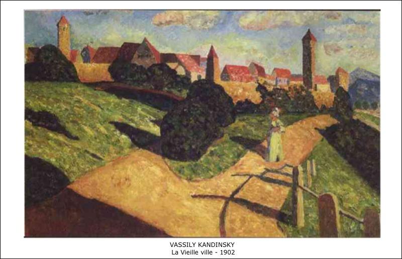 Vassily Kandinsky – La vieille ville – 1902