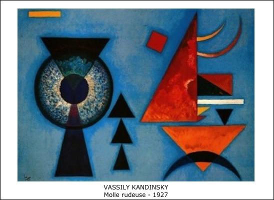 Vassily Kandinsky – Molle rudeuse – 1927