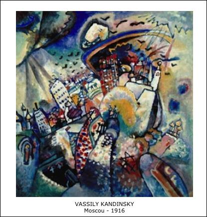 Vassily Kandinsky – Moscou – 1916