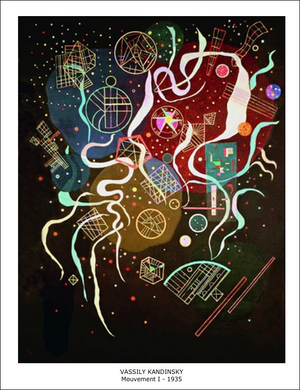 Vassily Kandinsky – Mouvement I – 1935