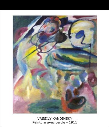 Vassily Kandinsky - Peinture avec cercle - 1911