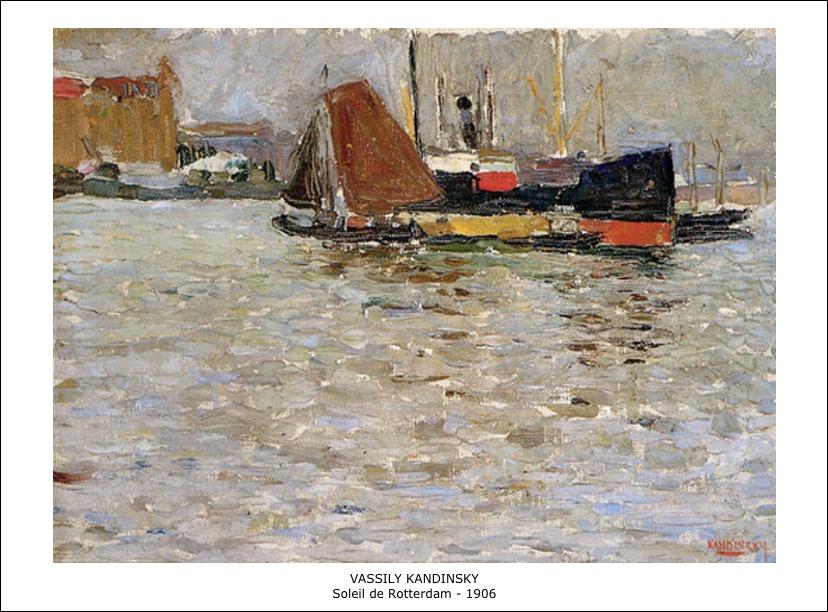 Vassily Kandinsky – Soleil de Rooterdam – 1906
