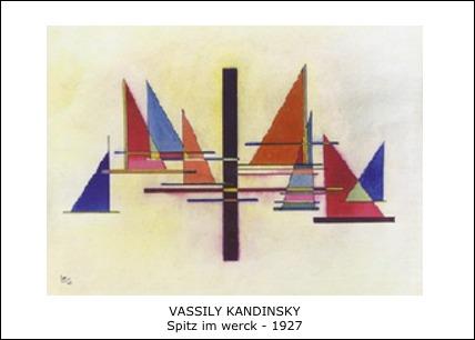 Vassily Kandinsky – Spitz im werck – 1927