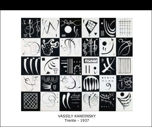 Vassily Kandinsky – Trente – 1937