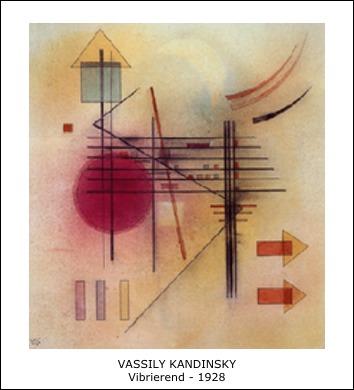 Vassily Kandinsky – Vibrierend – 1928
