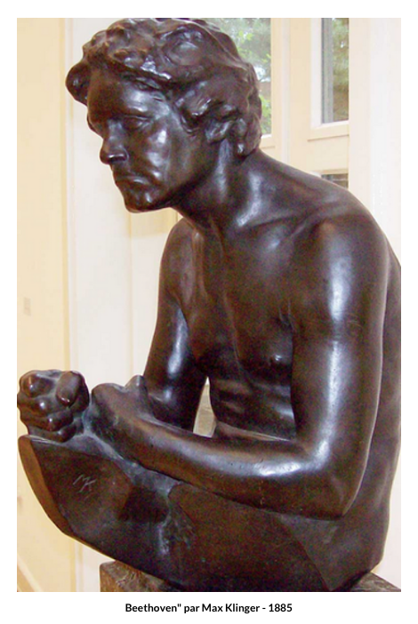 Beethoven par Max Klinger – 1885