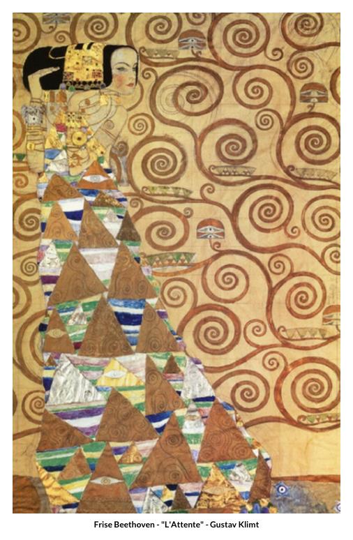 Frise Beethoven – L'Attente – Gustav Klimt