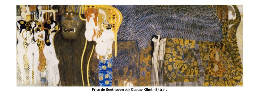 Frise de Beethoven – Klimt