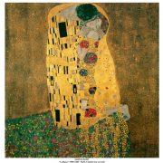 Gustav Klimt - Le baiser - 1908-1909
