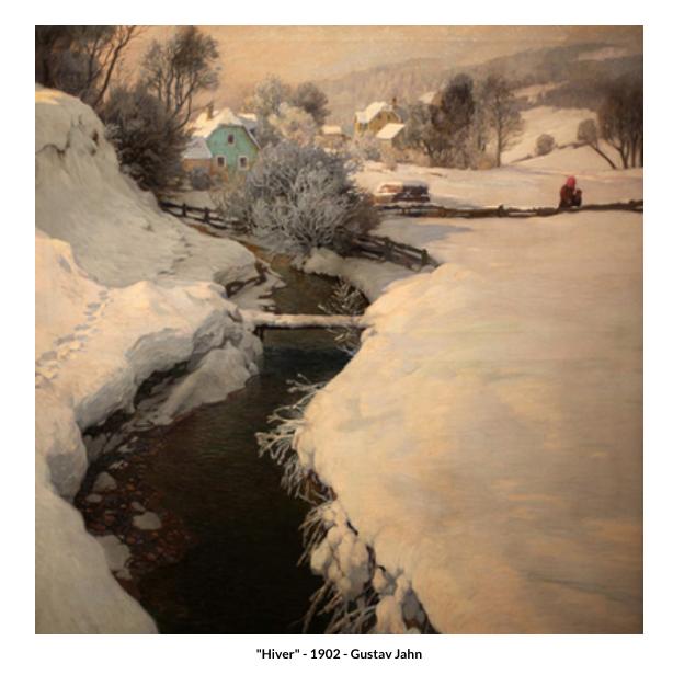 Hiver – 1902 – Gustav Jahn