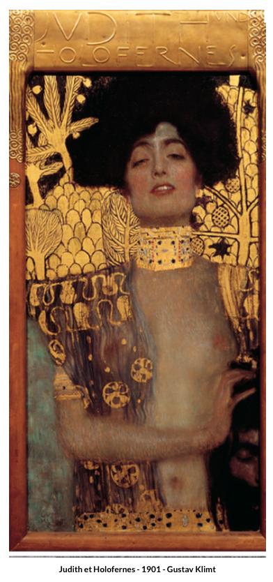 Judith et Holofernes - 1901 - Gustav Klimt