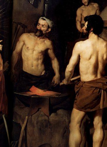 La Forge du Vulcain par Diego Velázquez