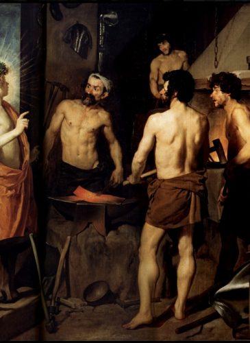 La Forge du Vulcain - Diego Velázquez