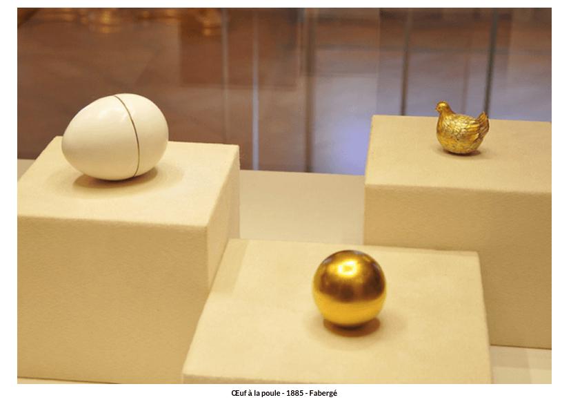 Œuf à la poule -1885- Fabergé
