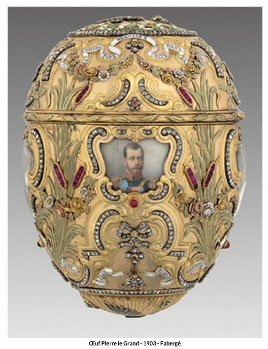 Œuf Pierre le Grand – 1903 – Fabergé
