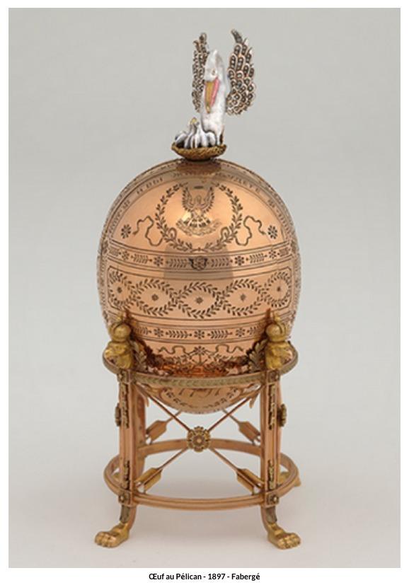 Œuf au Pélican – 1897 – Fabergé