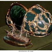 Œuf au Pamyat Azova - 1891 - Fabergé