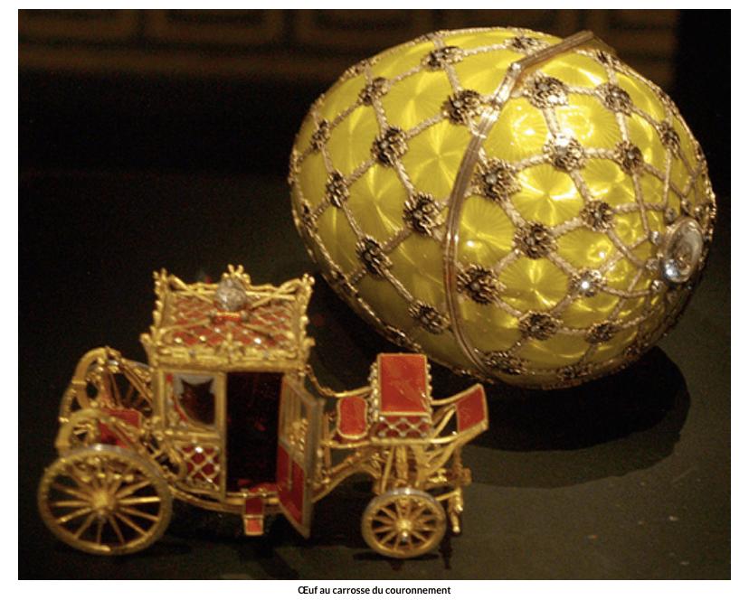 Œuf au carrosse du couronnement