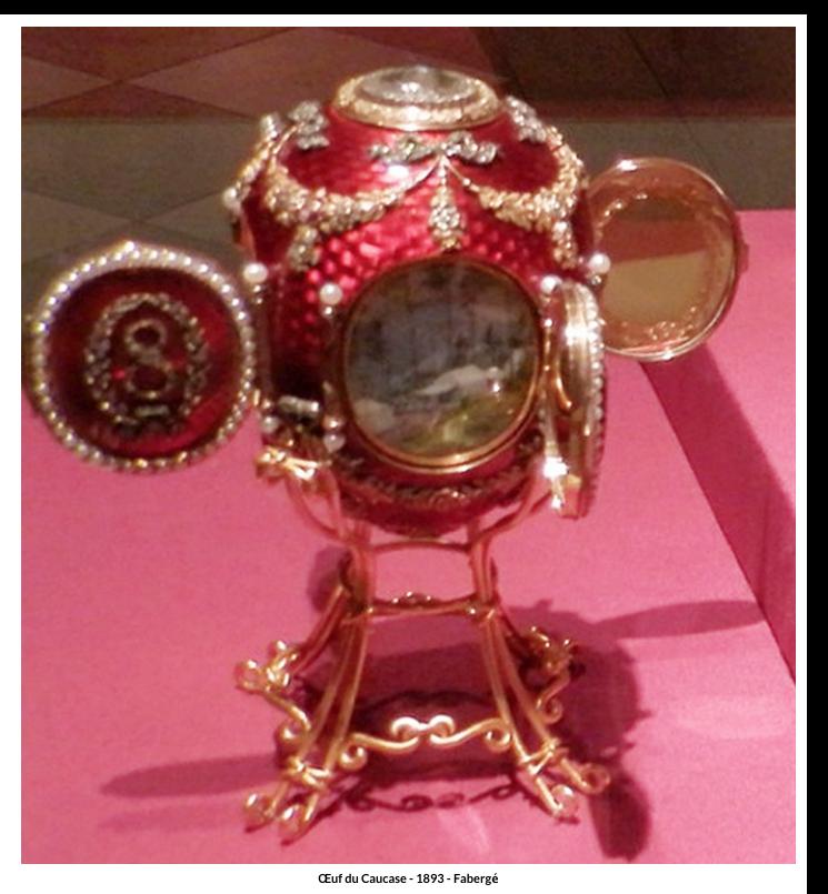 Œuf du Caucase – 1893 – Fabergé