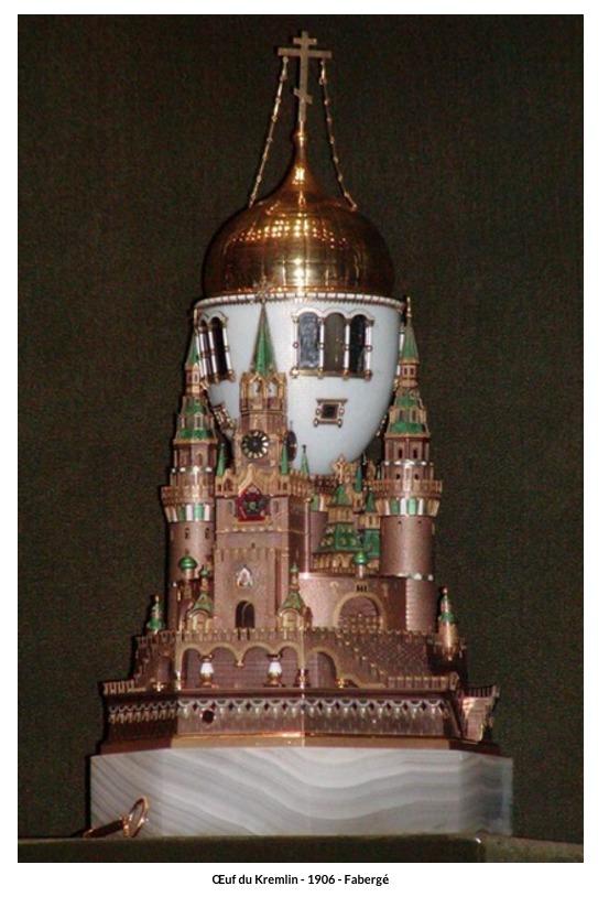 Œuf du Kremlin – 1906 – Fabergé