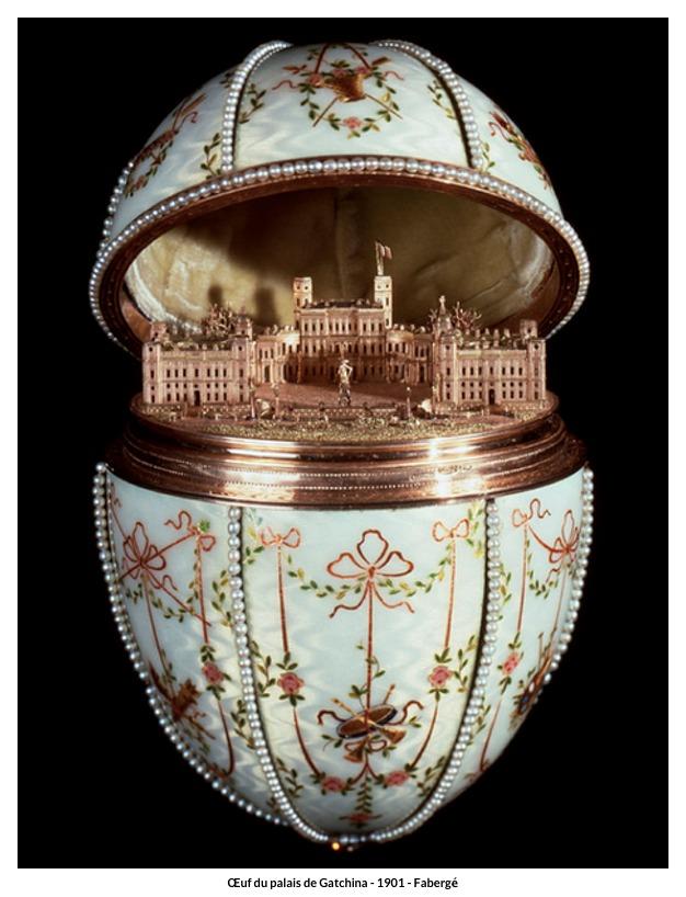 Œuf du palais de Gatchina – 1901 – Fabergé