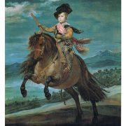 Portrait équestre du prince Balthazar Carlos - Diego Velasque