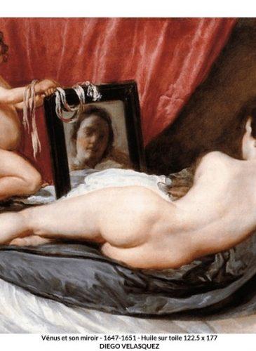 Vénus et son miroir - Diego Velásquez