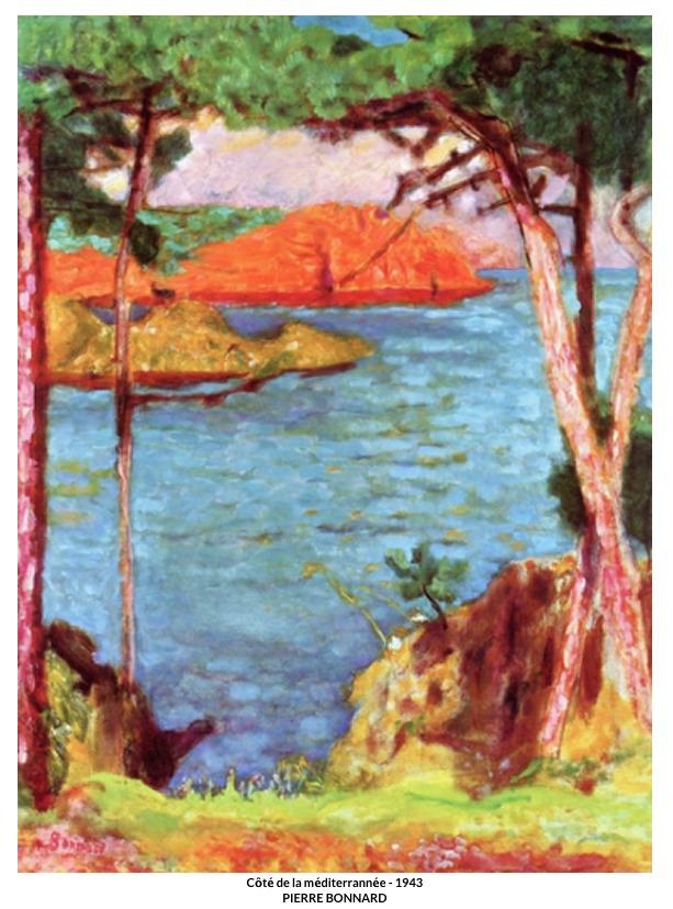 Côté de la méditerrannée – 1943 – Pierre Bonnard