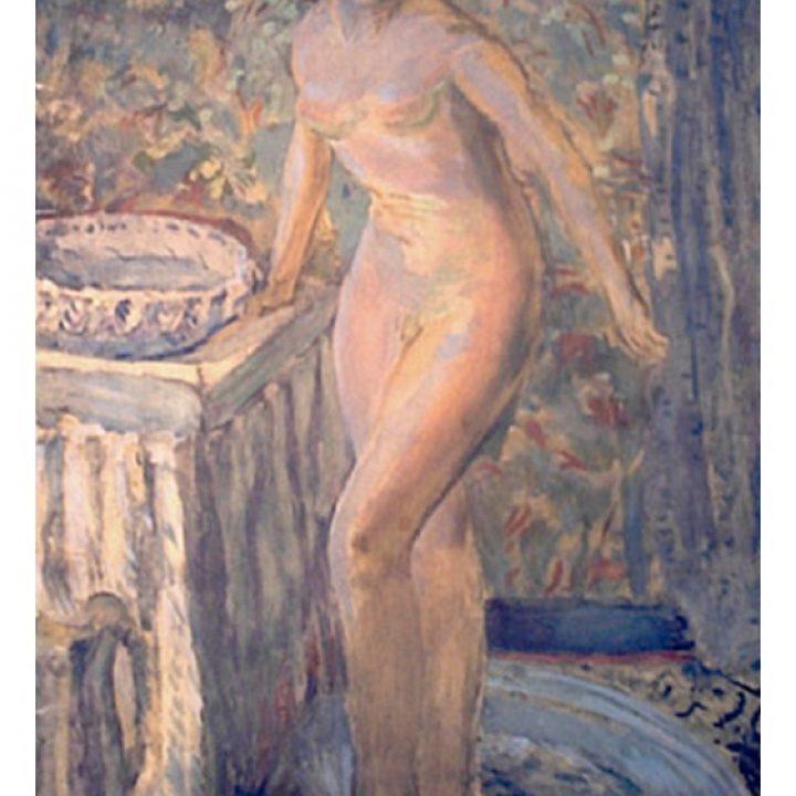 Femme à la toilette – Pierre Bonnard