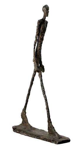 Giacometti - L'Homme qui marche - 1947