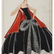 Jeanne Lanvin - La Cavallini robe du soir, 1925