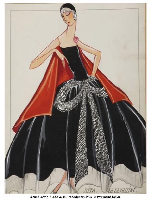 Jeanne Lanvin – La Cavallini robe du soir, 1925