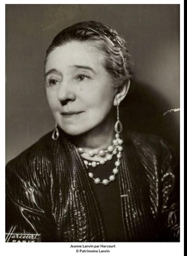 Jeanne Lanvin par Harcourt