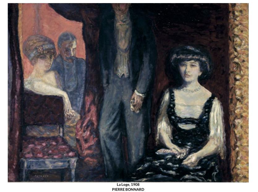 La Loge, 1908 – Pierre Bonnard