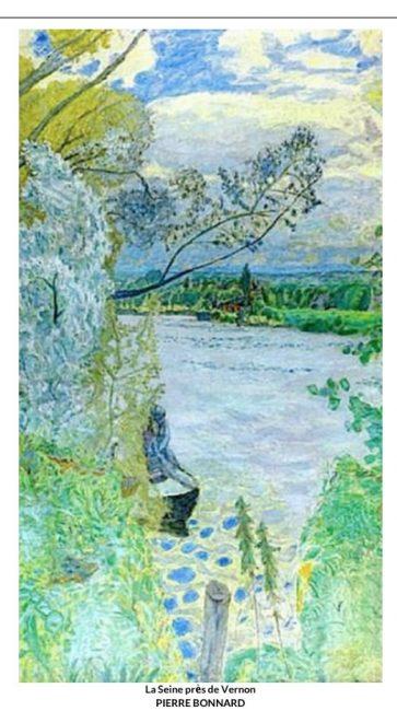 Pierre Bonnard, peintre du bonheur tout en couleur  !